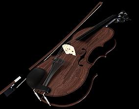 orchestral 3D model Violin
