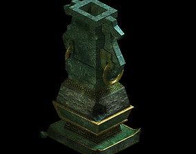 3D Game Model - Broken Bronze Device 3