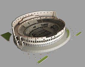 3D model colosseum roman