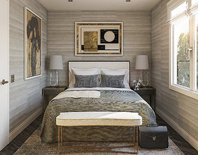 3D Modern Bedroom 2