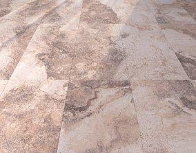 Marble Floor Bizantino Rustic Set 1 3D model