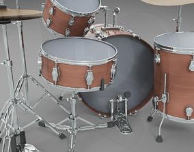 Basic drum set 3D