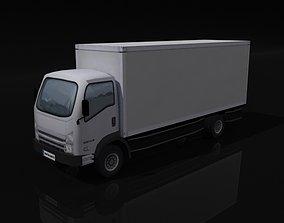 Panel Box Truck 3D model