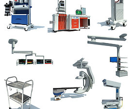 collection Medical Equipment 3D Models