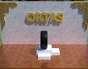 3D model game-ready ORTAS TIRE NO 29 GAME READY