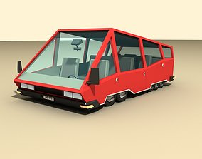 3D asset CAR 4 - Van