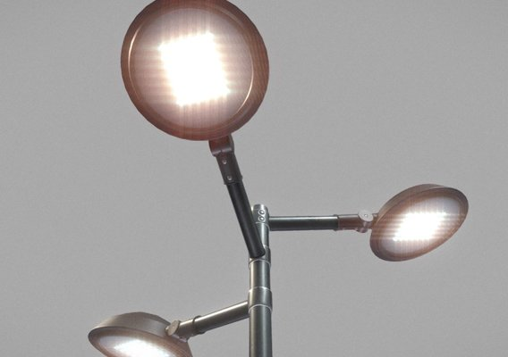 Sci-Fi-Street Light 15 v.5 (3m) (Pole 3) Blender-2.90.1