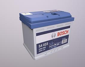 3D asset Battery bosch s4
