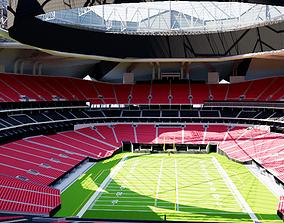 Mercedes-Benz Stadium Atlanta baseball 3D
