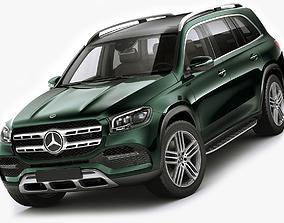 Mercedes GLS 2020 3D model