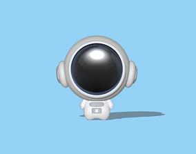 3D printable model Cute Astronaut