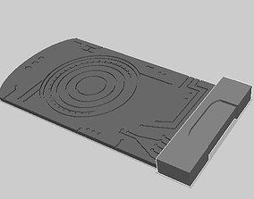 3D printable model Death Star Stolen data card