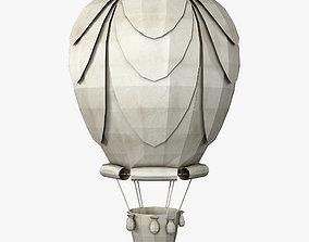 Hot Air Balloon Paper v 1 3D