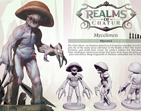 Mycelimen- Myconid 3D printable model