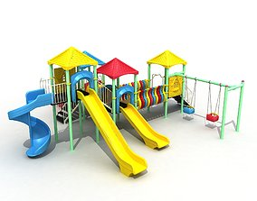 Metal Polythene Playground 37 3D