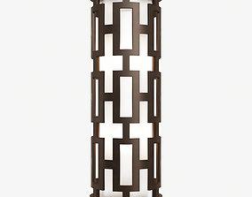 Fine Art Lamps River Oaks 840081 Wall Light 3D