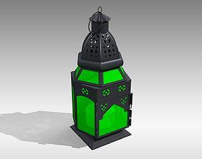 3D asset Moroccan Lantern 04