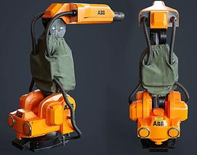 3D asset Paint Robot ABB IRB5400