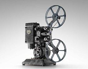 Ampro 16MM Projector 3D model