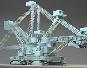 3D heavy duty miner