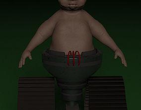 Babybot X-2 aka IQ 3D model