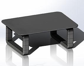Adjustable monitor stand 3D print model