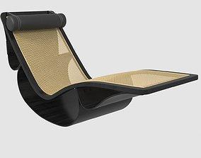 3D model Chaise Longue Rio Oscar Niemeyer
