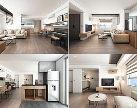 3D model M Apartment Interior