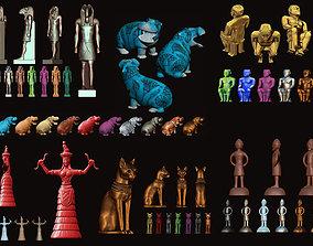 Ancient Gods Collection - CNC 3D print model