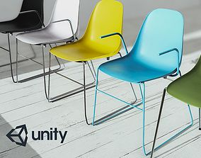 3D asset game-ready Enlight Chairs Pack 01