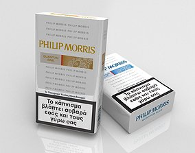 Philip Morris cigarette pack 3D
