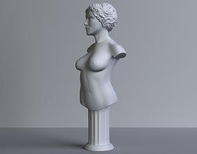 3D print model female-bust