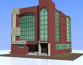 3D Bank Building 01