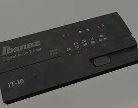 3D model Guitar Tuner IBANEZ IT-10 Digital Auto Tuner