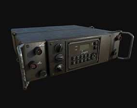 Military Radio 3D asset low-poly