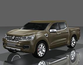 3D Renault Alaskan 2017