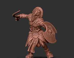 3D print model Egyptian warrior - Orion - 35mm scale