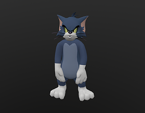 TOMC-012 Tom Cat Pointing Front 3D model