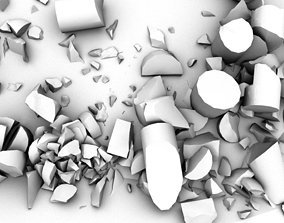 Rubble and Rocks 3D