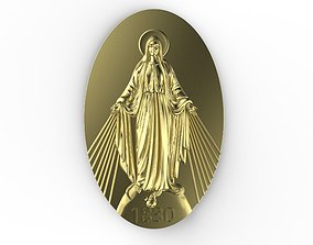 3D printable model Virgen Milagrosa Miraculous
