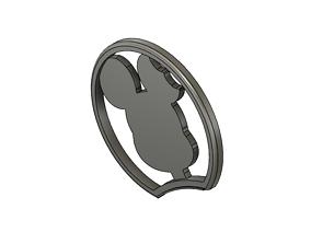 3D print model Mickey Mouse Headband Ear with Mickey 4
