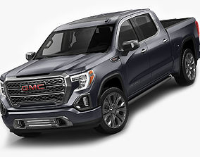 3D model GMC Sierra Denali 2019