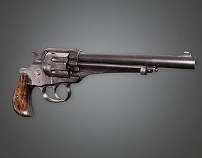 FPS Western Revolver - Brimstone 3D model