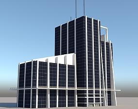 3D asset Skyscraper 1