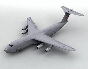 C-5 Galaxy Military Aircraft 3D asset
