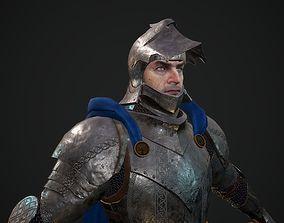 Knight 3D model PBR