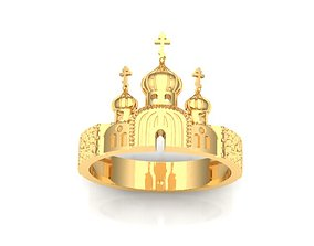 Ring Church 3D printable model