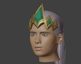 3D print model Qiyana Crown from League of legends