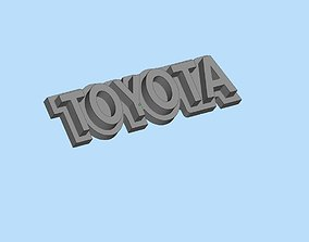 Emblem Toyota WPL C34 FJ40 scale116 RC 3D print model 4