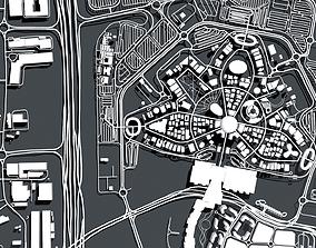 3D Cityscape Dubai EXPO 2020 United Arab Emirates